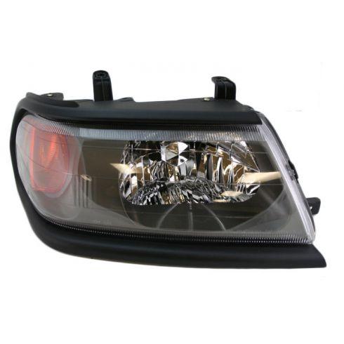 00-05 Mitsu Montero Sport Headlight w/Blk bezel RH