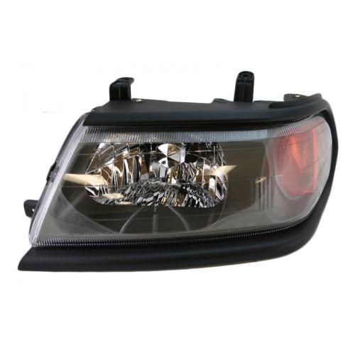 00-05 Mitsu Montero Sport Headlight w/Blk bezel LH