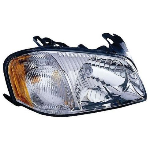 01-04 Mazda Tribute Headlight RH