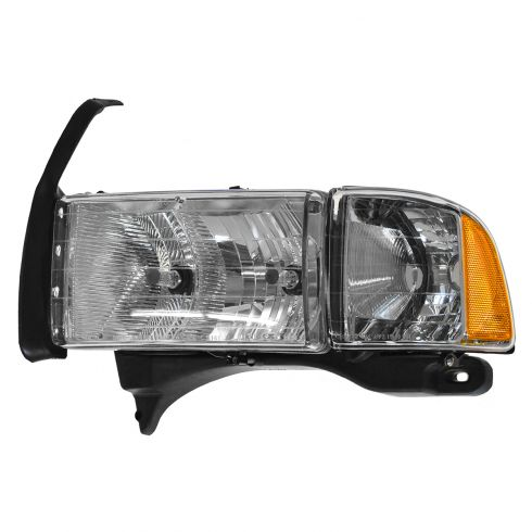 99-02 Dodge Pickup w/Sport Pkg Headlight LH