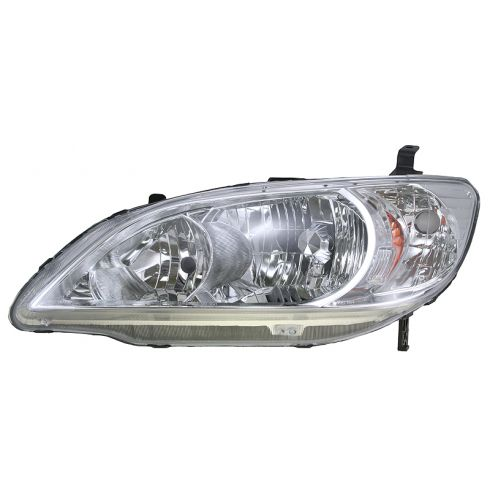 2004-05 Honda Civic Driver Side Headlight