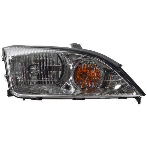 2005-06 Ford Focus ZX4 Non-SVT Headlight Passenger Side
