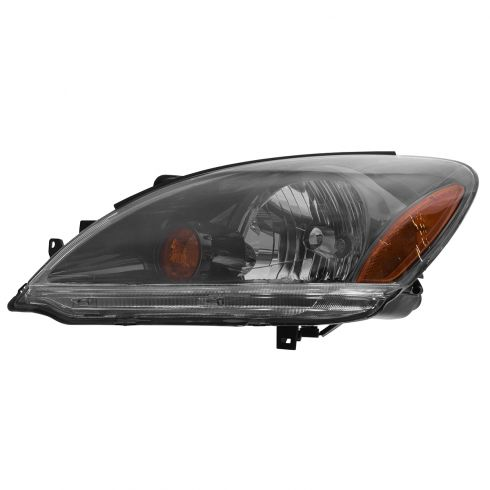 2004-06 Mitsubishi Lancer Sedan (Black Rim) Headlight Driver Side