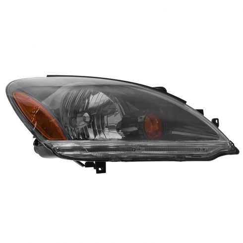 2004-06 Mitsubishi Lancer Sedan (Black Rim) Headlight Passenger Side