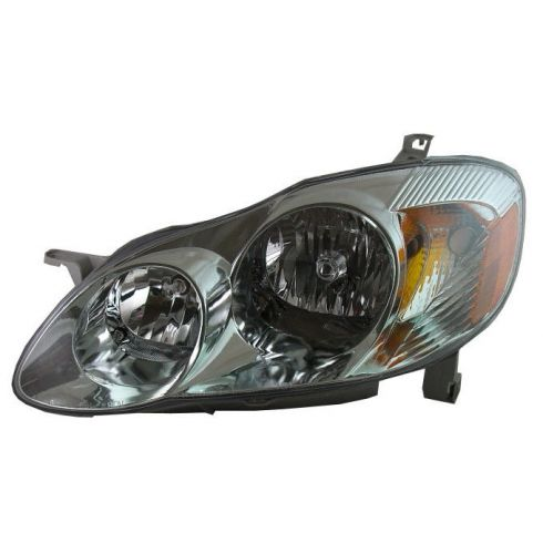 2003-04 Toyota Corolla Passenger Side Headlight (S Model)