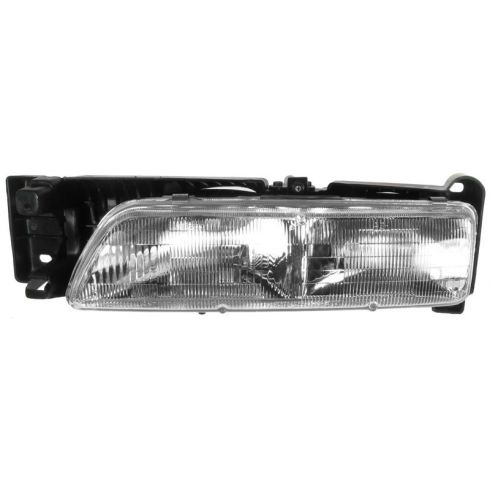 1992-94 Pontiac SUNBIRD Headlamp Assembly LH Without Hide Away Headlamps