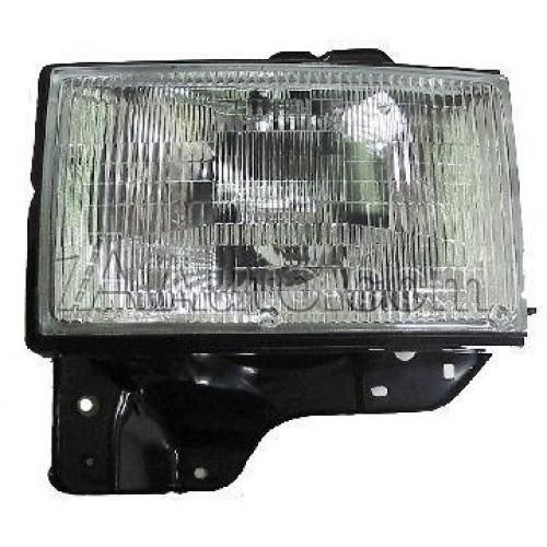 1992-97 Isuzu TROOPER HEADLAMP Assembly LH
