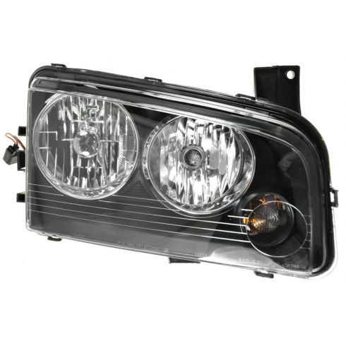 2006-08 Dodge Charger Headlight Passenger Side