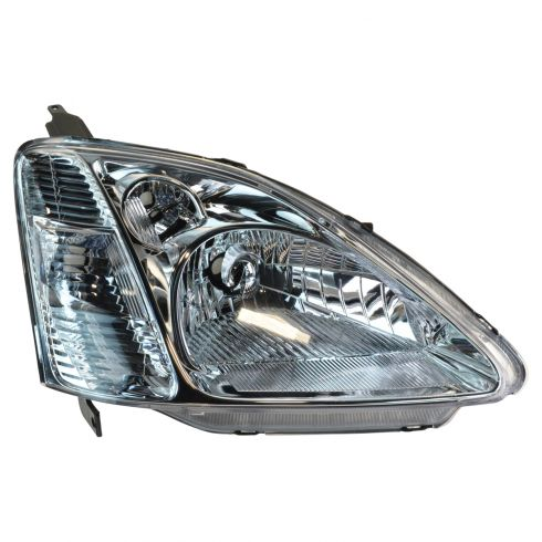 02-03 Honda Civic  Headlight RH for Hatchback Models