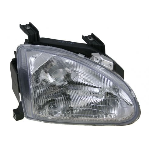 1993-97 Honda Civic DelSol Headlight Passenger Side