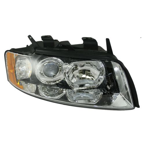 02-05 Audi A4 S4 Non-HID Headlight RH