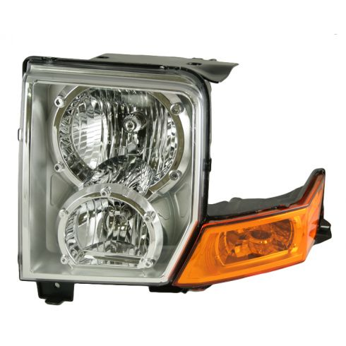 06-08 Jeep Commander Headlight LH