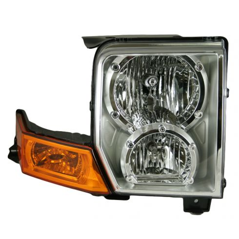 06-07 Jeep Commander Headlight RH