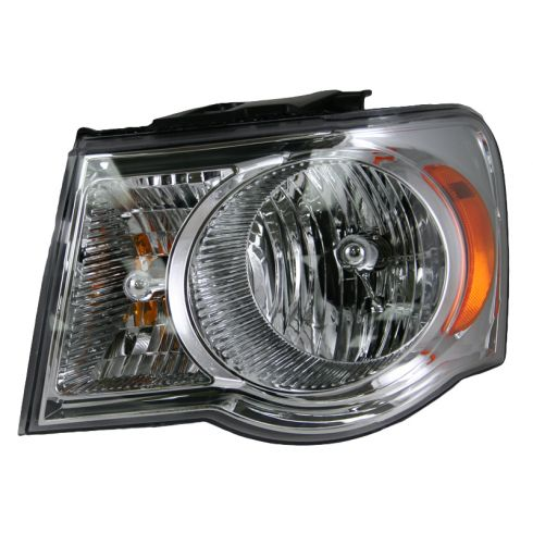 07-08 Chrysler Aspen Headlight LH