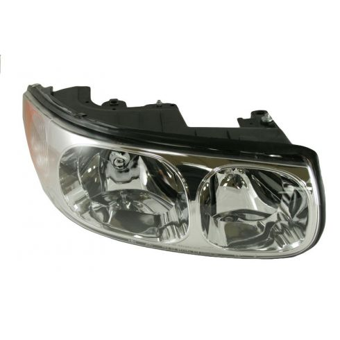 00 Buick LeSabre Limited Headlight without Lined Hi-Beam Lens RH