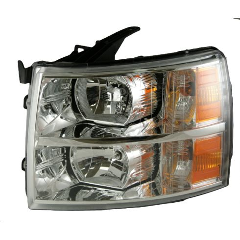 07-08 Chevy Silverado Pickup Headlight LH