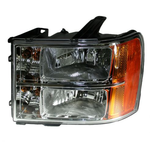07-08 GMC Sierra Pickup Headlight LH