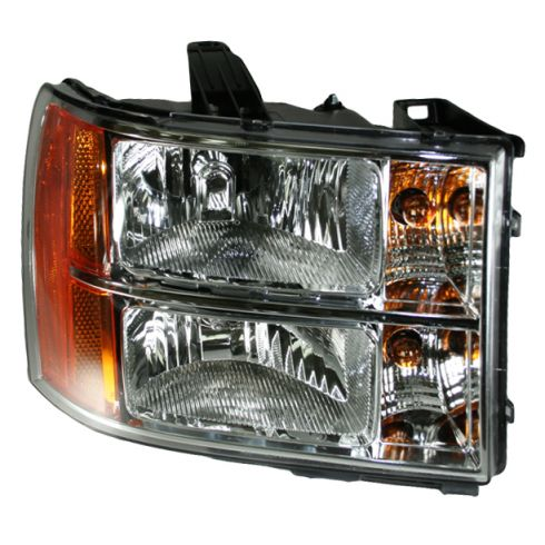 07-08 GMC Sierra Pickup Headlight RH