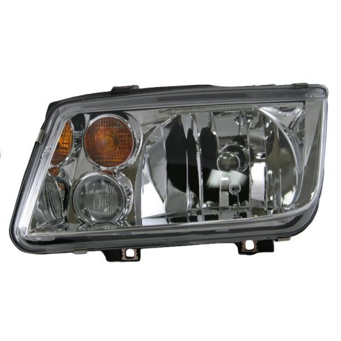 02-05 VW Jetta Headlight with Fog Light LH