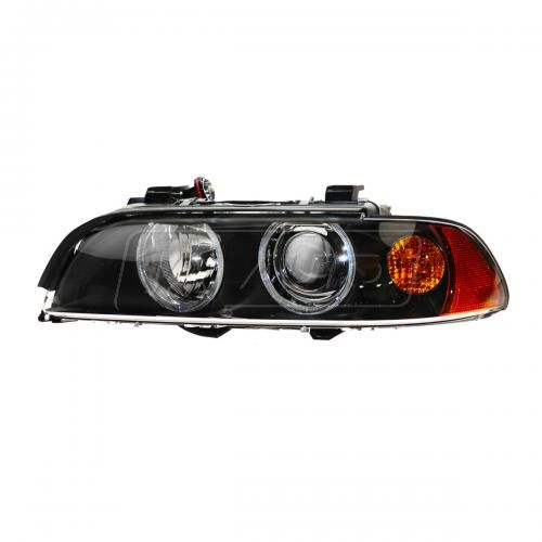 01-03 BMW 525i 530i 540i M5 Halogen Headlight w/Amber Turn Signal LH