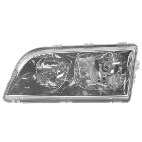 00-02 Volvo S-40 (BLK; Old Style) Headlight LH