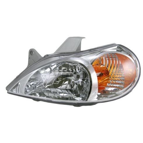 01-02 Kia Rio Sedan Headlight LH