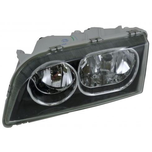 03-04 Volvo S-40 (BLK;Old Style) Headlight LH