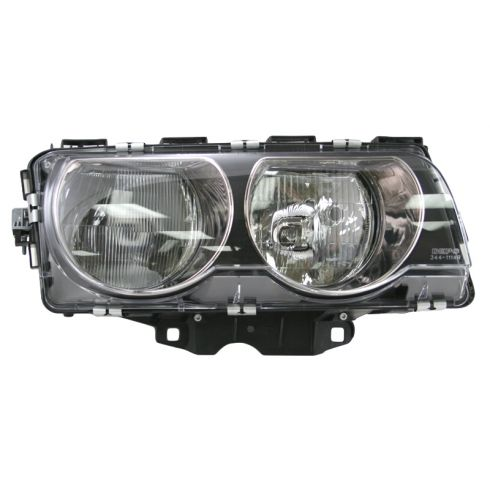 99-01 BMW 740 750 I IL Headlight Halogen Passenger Side