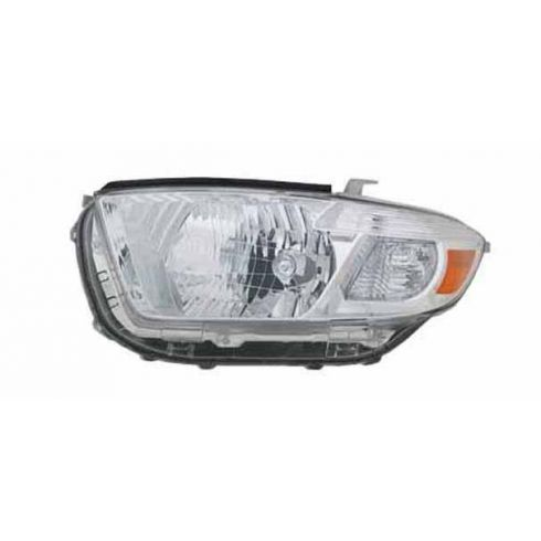 2008-09 Toyota Highlander Headlight LH (Base Limited)