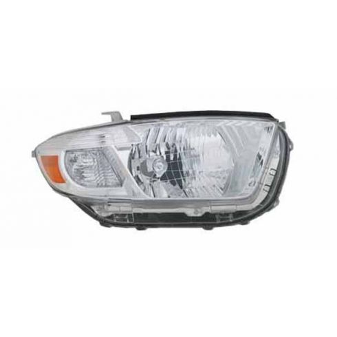 2008-09 Toyota Highlander Headlight RH (Base Limited)