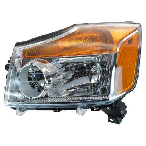 2008-09 Nissan Titan Headlight LH