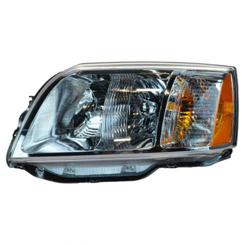 2004-08 Mitsubishi Endeavor Headlight LH