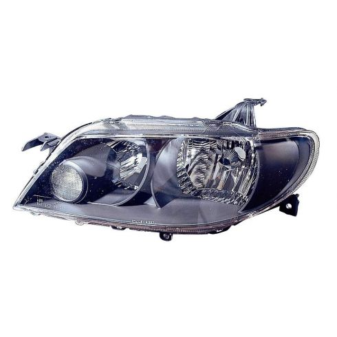2002-03 Mazda Protege5 Headlight w/Black Bezel LH