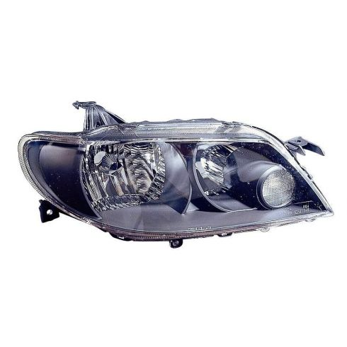 2002-03 Mazda Protege5 Headlight w/Black Bezel RH