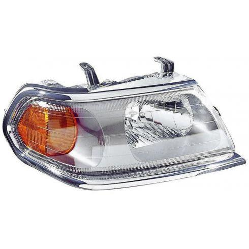 00 (thru 2/00) Mitsubishi Montero Sport Headlight RH