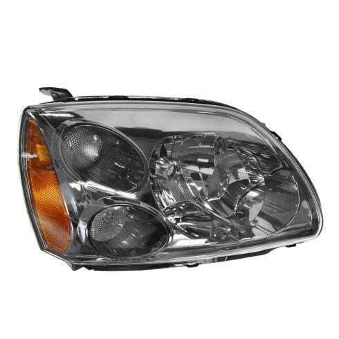 04-12 Mitsubishi Galant Halogen Headlight w/Dark Bezel RH