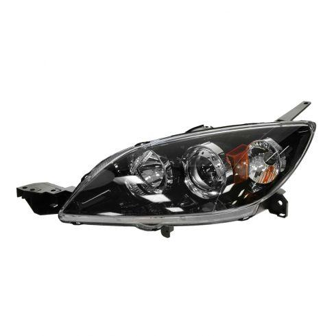 04-09 Mazda 3 Hatchback HID w/o Ballast Headlight LH