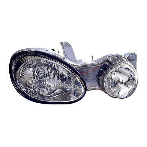 2000-01 Kia Spectra Headlight RH