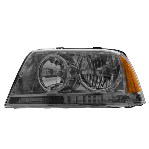 03-05 Lincoln Aviator HID (w/Ballast) Headlight LH