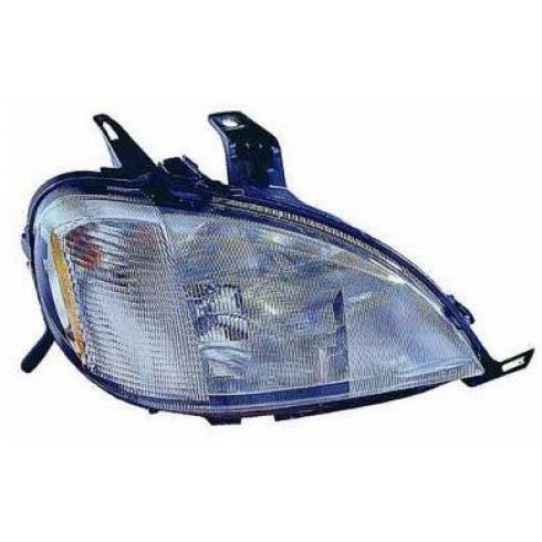 1998-01 Mercedes ML Series w/Sprt Pkg Halogen Headlight RH
