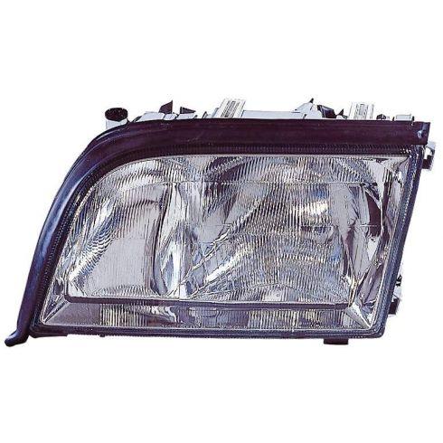 1995-99 Mercedes S Class Headlight w/o SML LH
