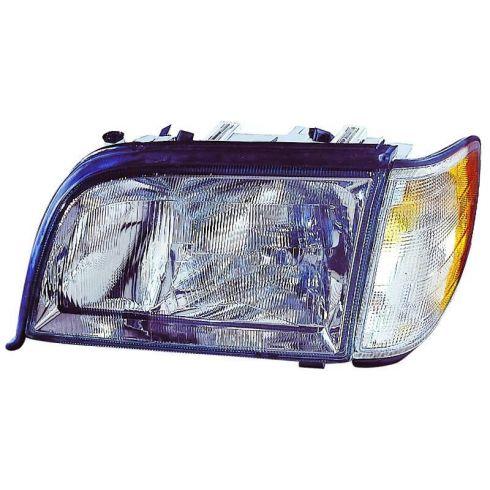 1995-99 Mercedes S Class Headlight w/SML LH