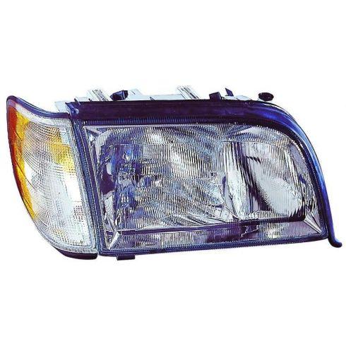 1995-99 Mercedes S Class Headlight w/SML RH