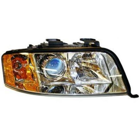 2002-04 Audi A6 w/6cyl Halogen Headlight RH