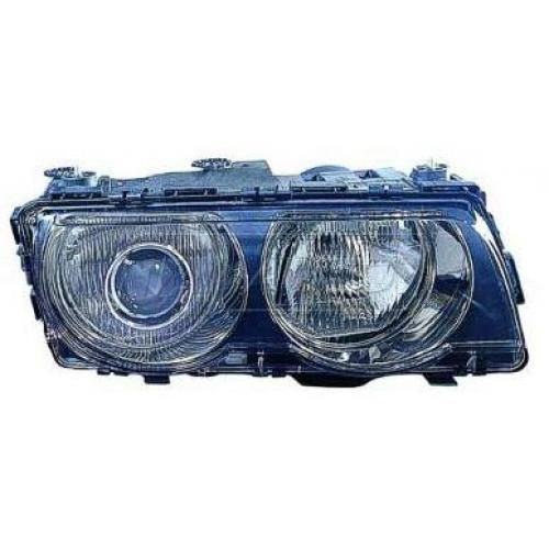 1999-01 BMW 7 Series HID (w/o Ballast) Headlight (w/o Chrome) RH