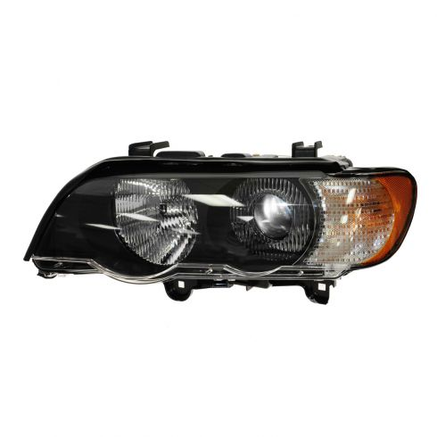 00-03 BMW X5 HID (w/o Ballast) Headlight w/Clear TS LH