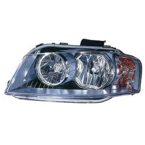 2006-08 Audi A3 Halogen Headlight LH