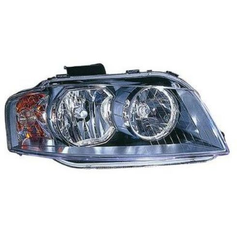 2006-08 Audi A3 Halogen Headlight RH