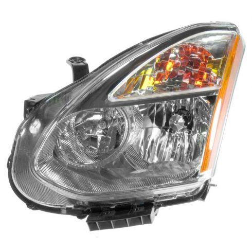 08-11 Nissan Rogue Headlight (Halogen Style) LF