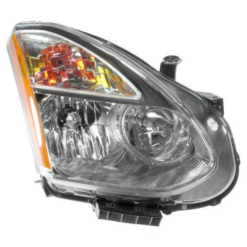 08-11 Nissan Rogue Headlight (Halogen Style) RF